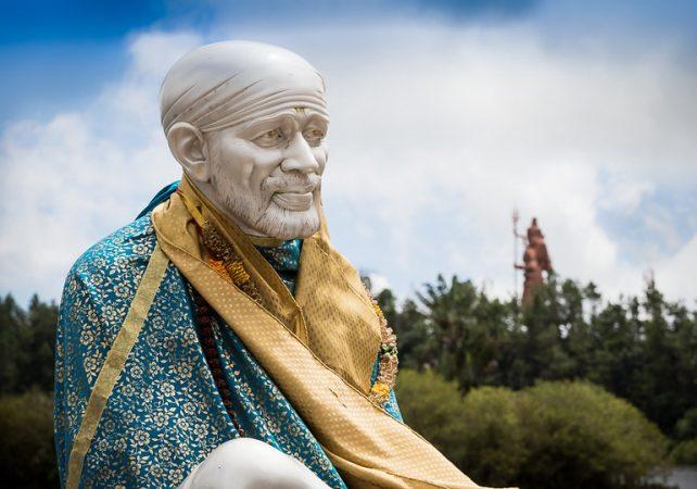sai baba temple statue tallest statue in india