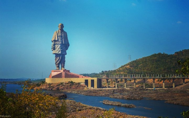 statue of unity (Tallest Statues in India)