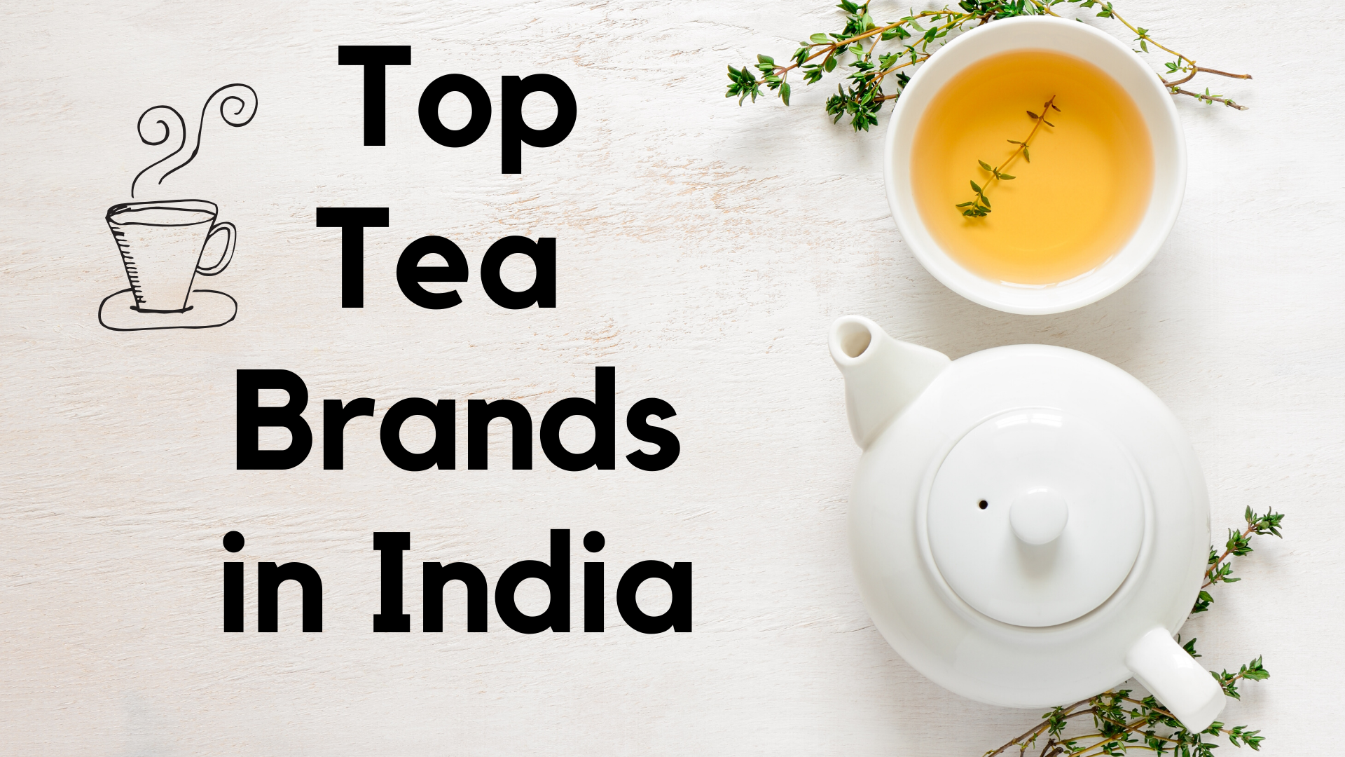 top tea brands