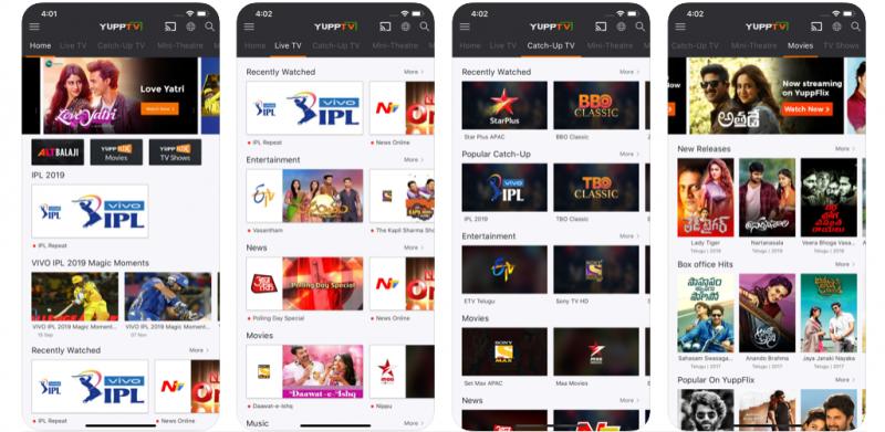 yupp tv best t.v. app
