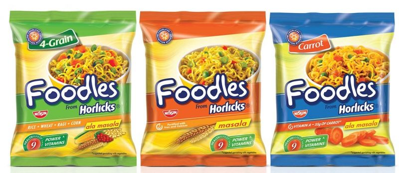 Horlicks Foodles Leading noodles brand in India