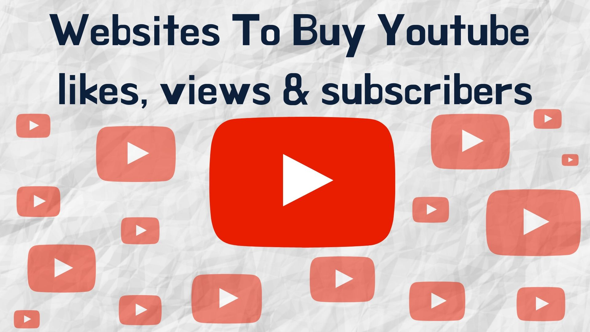 best websites to buy youtube likes, views & Subscribers
