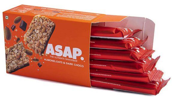 ASAP Almond and Dark Chocolate Granola Bars: Best Dark Chocolate In India