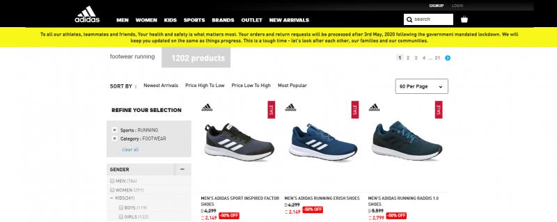 Adidas: Women's Footwear Brand