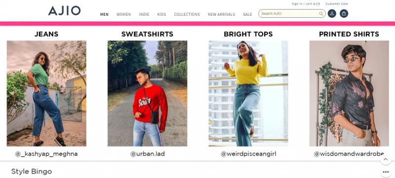 Ajio.com: Online Clothes Shopping