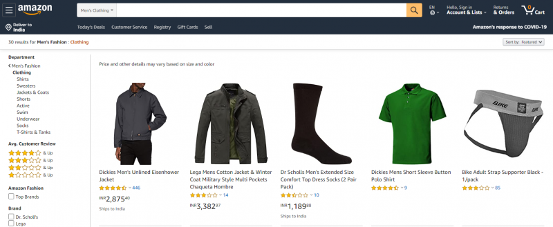 Amazon.in: Online Clothing Store