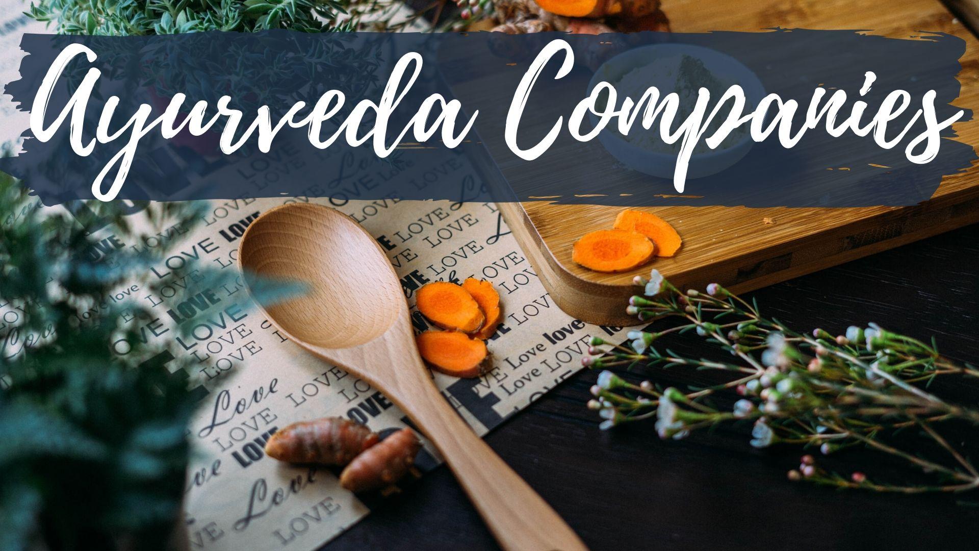 Ayurveda companies
