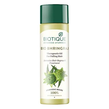 Biotique Bio Bhringraj Therapeutic Oil For HairBest Anti Hair Fall Oil
