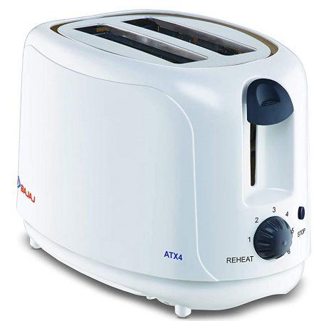 Bajaj ATX 4 Pop-up Toaster Best Kitchen Appliance In India