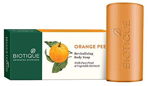 Biotique Bio Orange Peel Revitalizing Body Soap: Best Soap For Women
