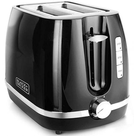 Black & Decker 2 Slice Pop-Up Toaster With Bun Warmer Best Toaster In India