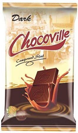 Chocoville Compound Chocolate: Best Dark Chocolate In India