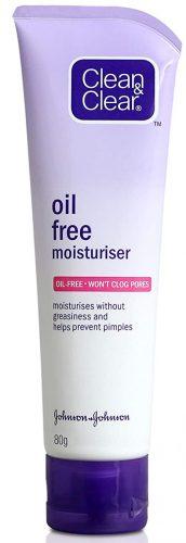 Clean & Clear Oil-Free Moisturizer Best Face Cream
