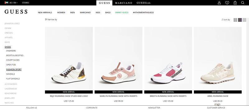 GUESS Best: Women's Footwear Brand