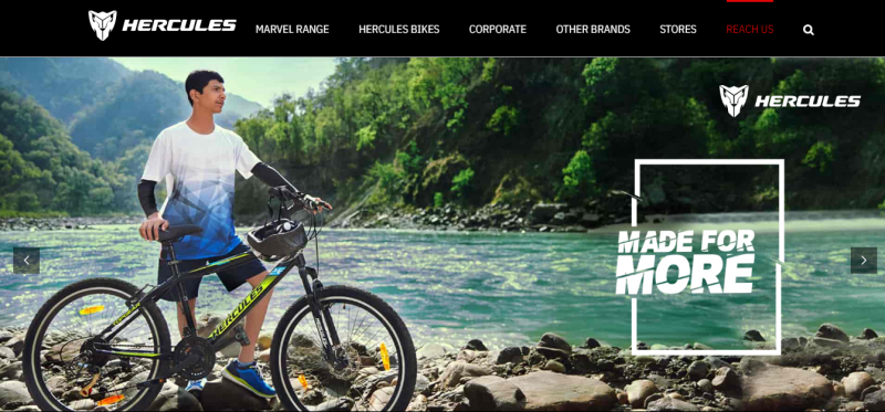 Hercules Cycles: Cycle in india