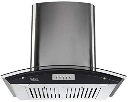 Hindware Delfina Plus 60 CM Wall Mounted Chimney Best Kitchen Appliance In India