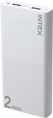 Intex 20000 mAh Power Bank (Fast Charging, 10 W) Best Power Bank