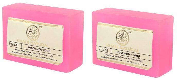 Khadi Natural Rosewater Soap: Best Soap For Women