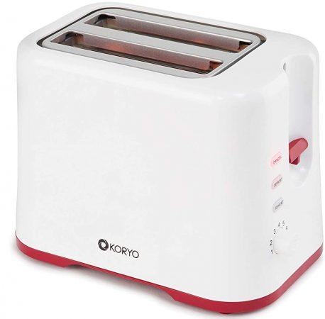 Koryo 750- Watt Pop Up Toaster Best Toaster In India