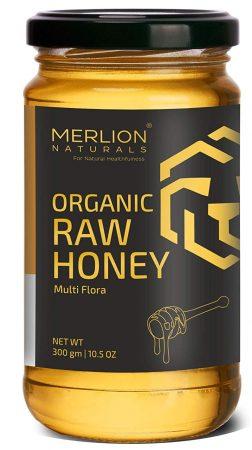 MERLION NATURALS Multiflora Organic Raw Honey: Best Honey In India