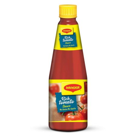 Maggi Tomato Sauce without Onion and Garlic Best Sauce Brand In India