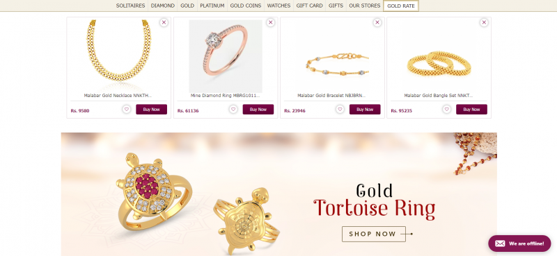 Malabar Gold and Diamonds Best Jewellery Brand In India