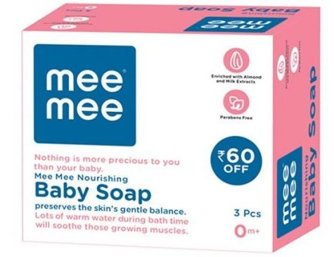 Mee Mee Nourishing Soap: Best Soap For Kids