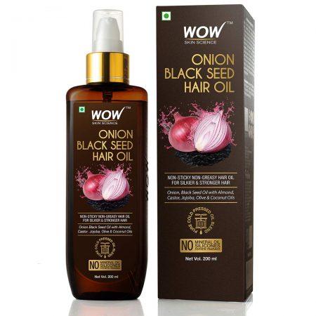 Onion Black Seed Hair Oil: Anti Hair Fall Oil