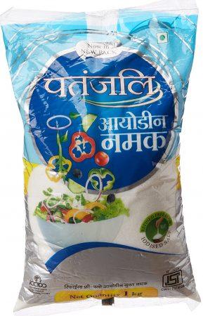 Patanjali Iodized Namak Best Salt brand in india: best salt for health