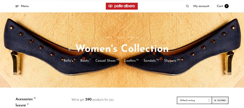 Pelle Albero: Women's Footwear Brand