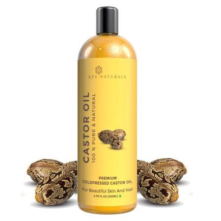 Rey Naturals Pressed Castor Oil: Anti Hair Fall Oil
