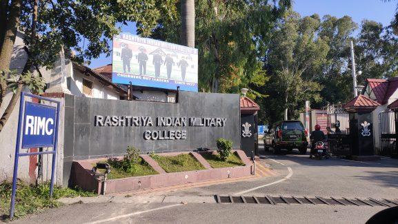 Rashtriya Indian Military College Dehradun: Best Military School In India