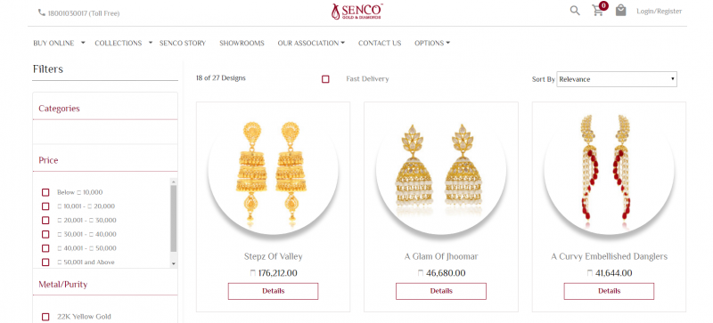 Senco Gold and Diamonds: Jewellery Brand In India