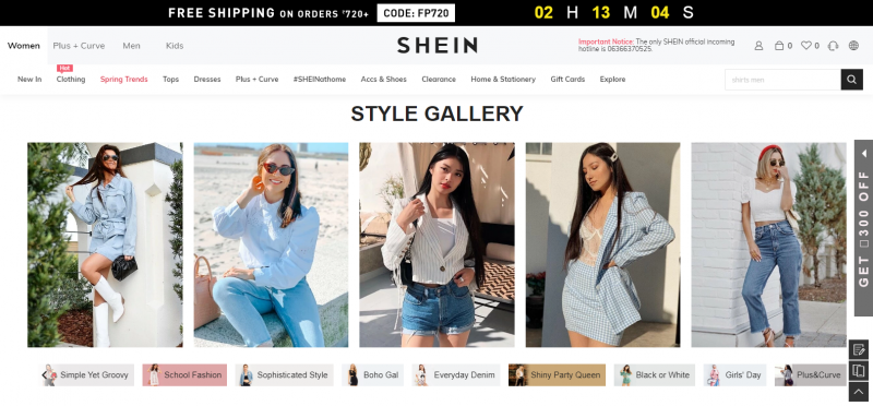 Shein.in: Online Clothes Shopping