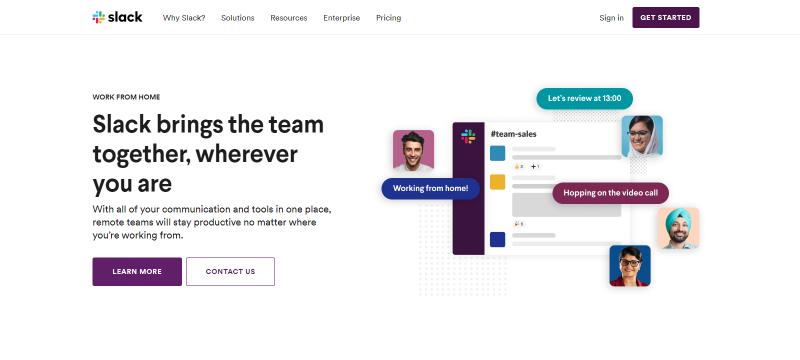 Slack: Video conferencing service