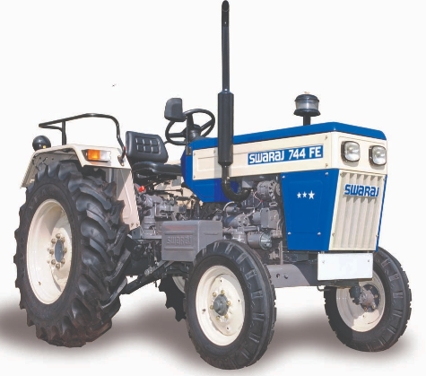 Swaraj 744 FE - best swaraj tractor