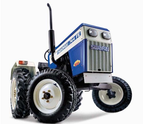 Swaraj 744 Potato Xpert - best swaraj tractor