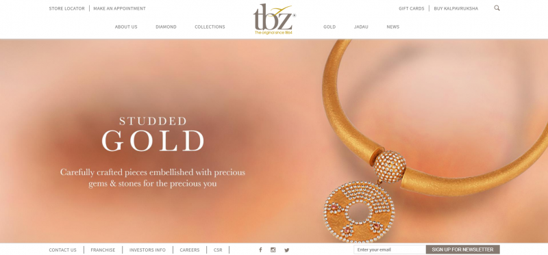 Tbz: Top Jewellery Brand In India