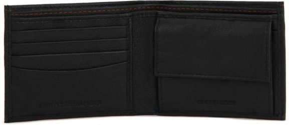 Tommy Hilfiger casual black wallet Best Wallet Under INR 1500/-