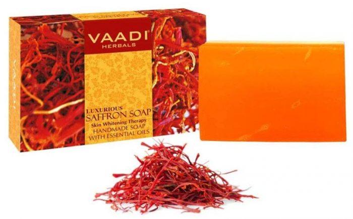 Vaadi Herbals Value Luxurious Saffron Soap: Best Soap For Women