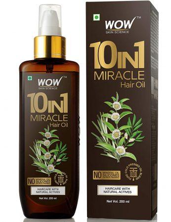 Wows 10-In-1 Active Mineral Hair Oil Best Anti Hair Fall Oil