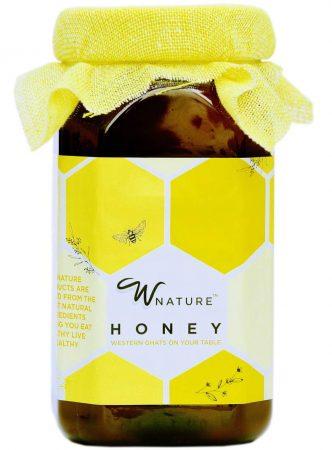 Wnature Organic Wild Raw Hon: Best Honey In India