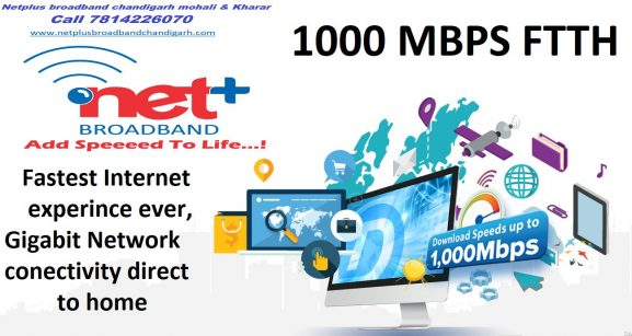 Netplus: Best Internet Service Provider In Chandigarh