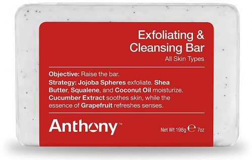 Anthony Exfoliating and cleansing bar soap: Best Soap For Men
