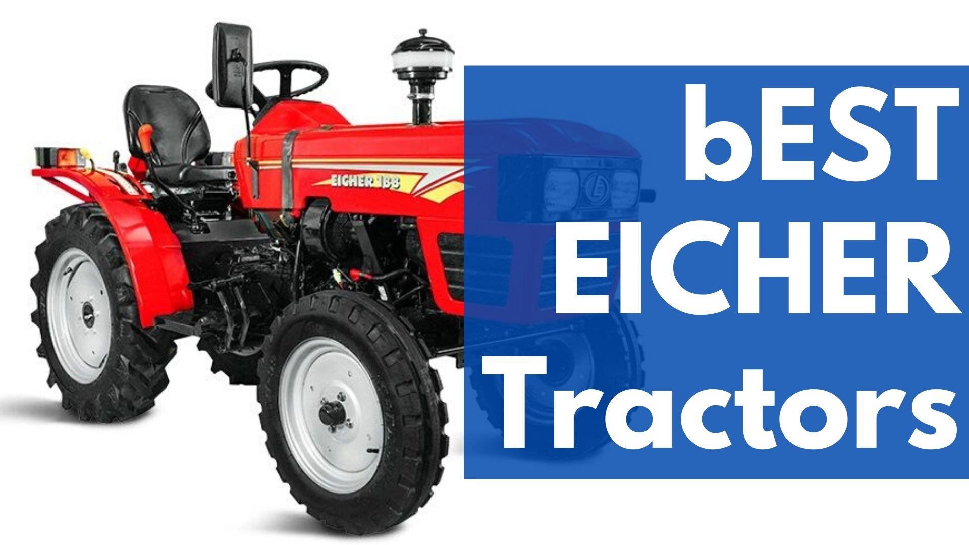 BEST Eicher Tractors