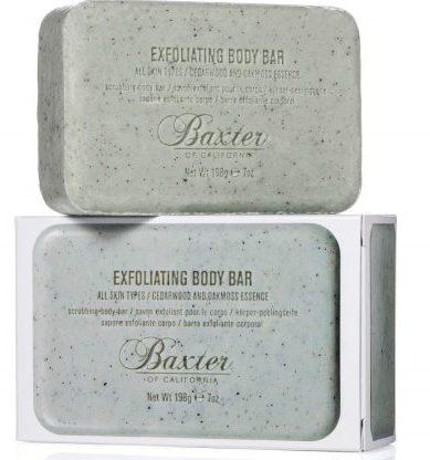 Baxter of California men's exfoliating body bar soap: Best Soap For Men