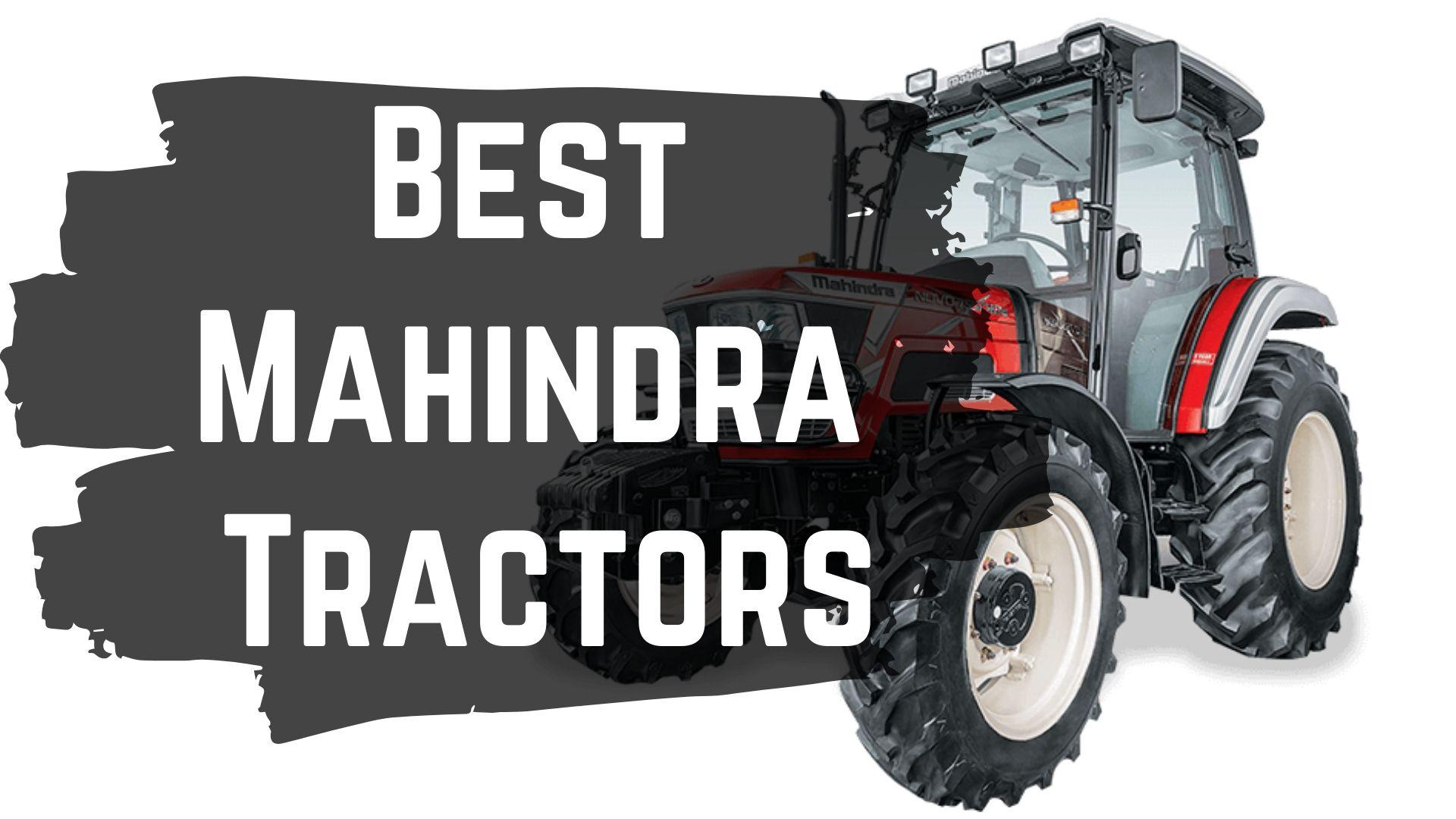 Best Mahindra Tractors