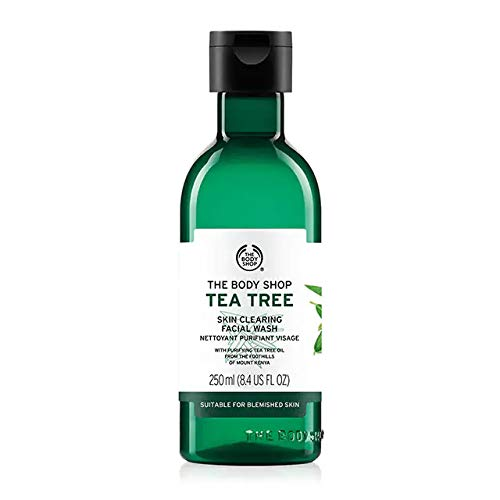 Body Shop Tea Tree Skin Clearing Face Wash: Best Face Wash In India