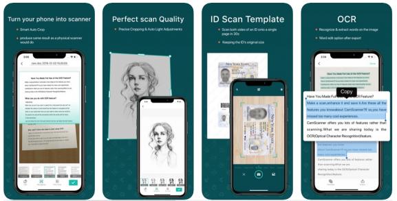 CamScanner: mobile document scanning app