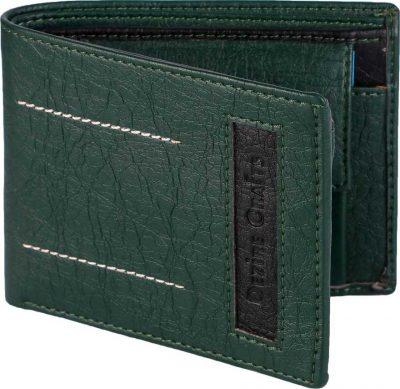 Dezire Crafts casual green wallet: Best Wallet